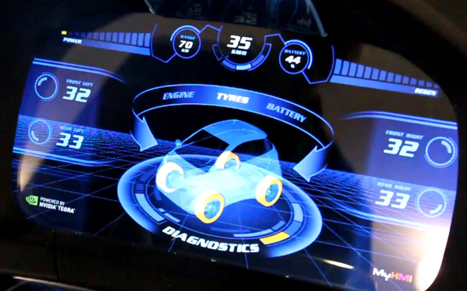 Nvidias Tegra Team Shows Off Car Dashboards Of The Future