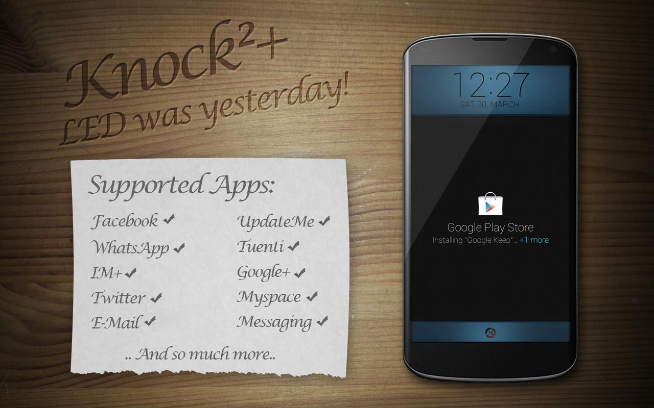 [New App] Knock²+ Looks To Replace LED Notifications With Clean, Minimal Lockscreen Popups