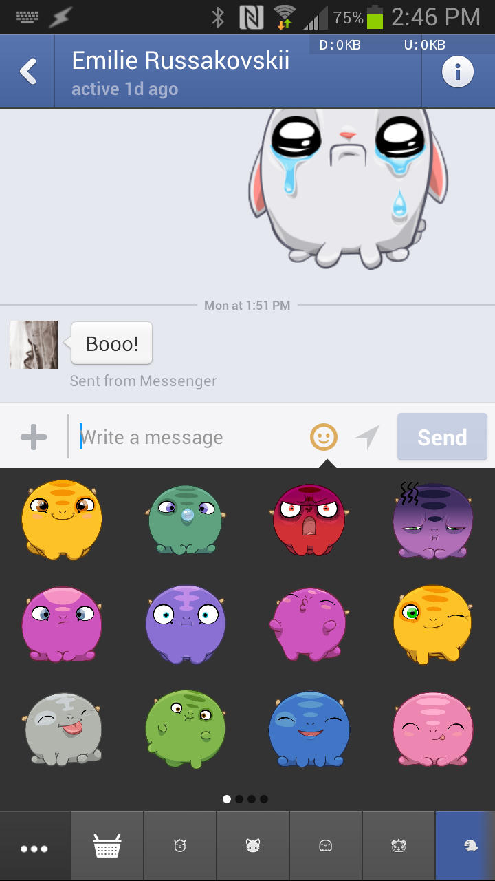 messenger facebook how to not appear