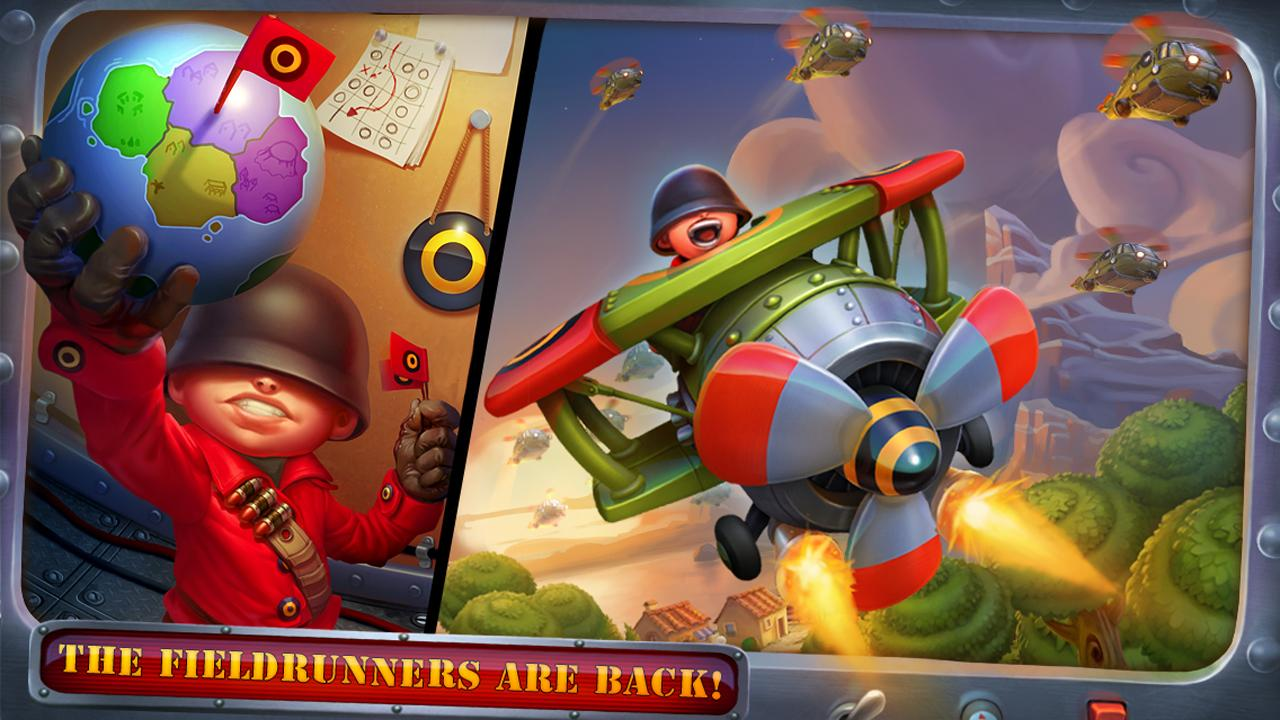 [New Game] Fieldrunners 2 Hits The Play Store, Guns, Tanks ...