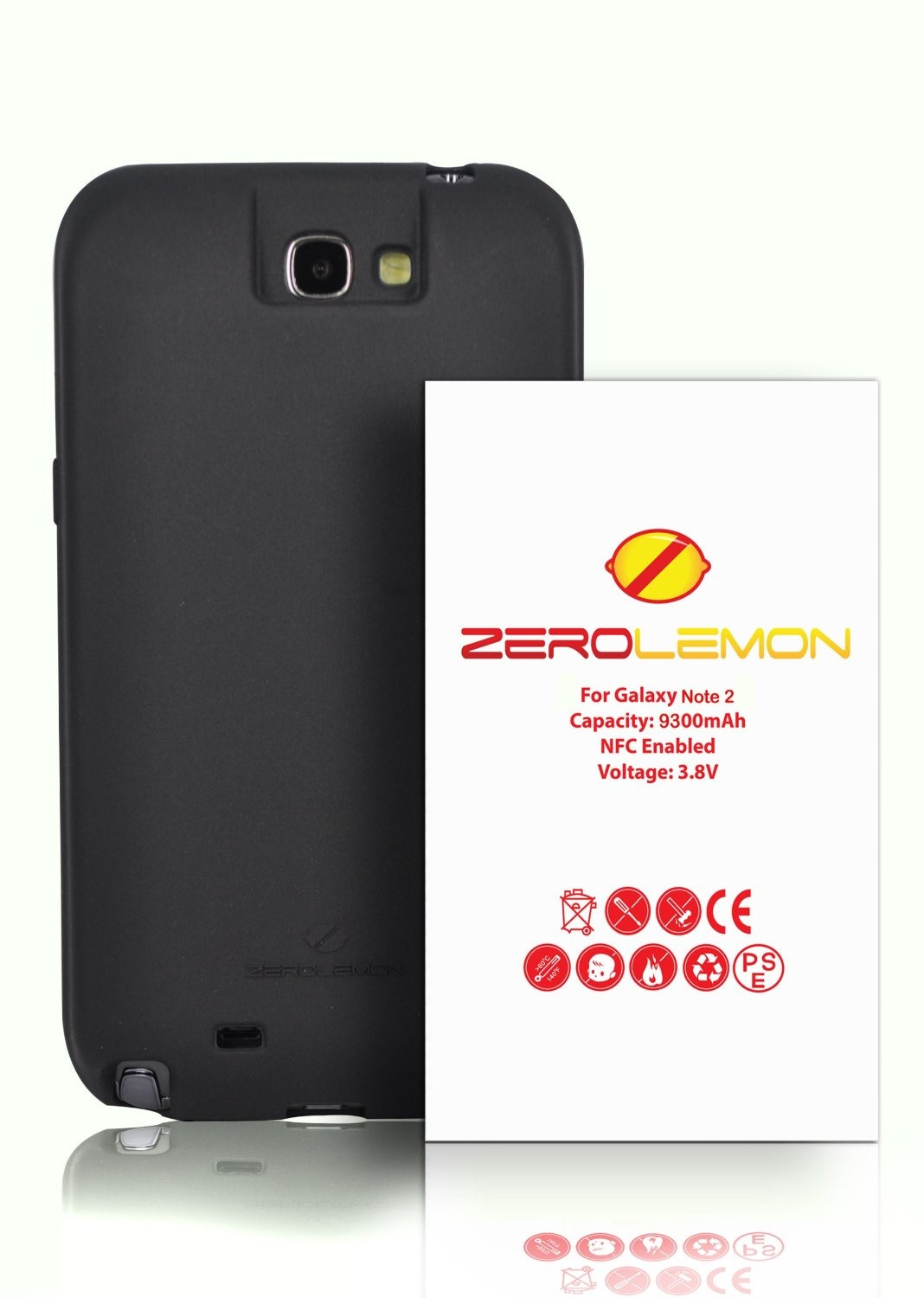 check out 978f4 3e88d Deal Alert] ZeroLemon's Massive 9300mAh Galaxy Note II Extended ...