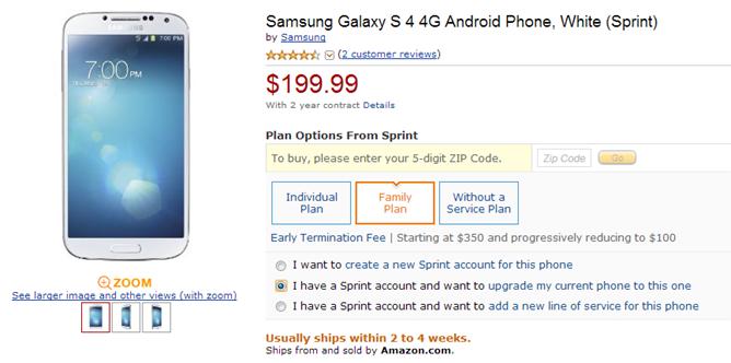 Amazon-GalaxyS4
