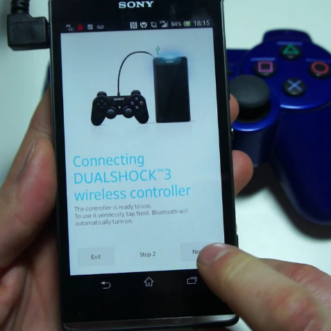 native playstation dualshock game controller support is a feature sony ...