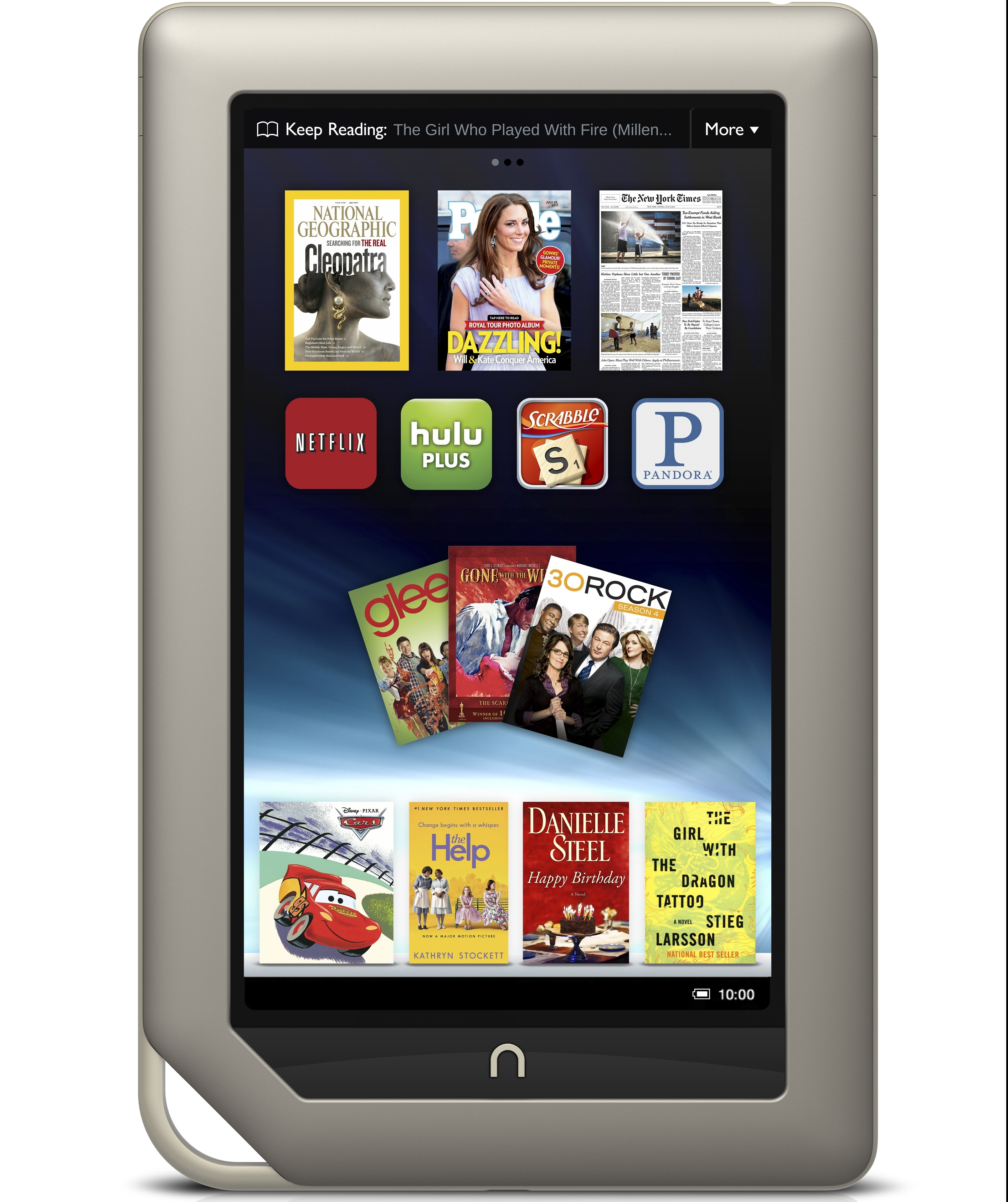 Nook Tablet Gets CyanogenMod 10.1 Nightlies