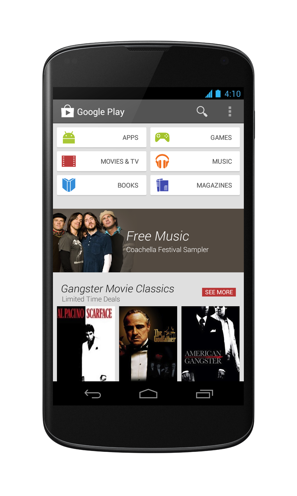 Phone Up And Coming Android Phones google confirms the new play store ui rollout to phones and play40phone play40n7