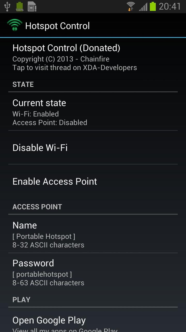 New App] Chainfire's Hotspot Control Harnesses The Latent