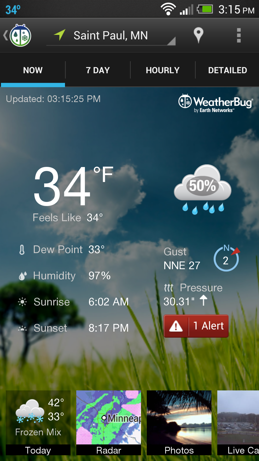 weatherbug app android download