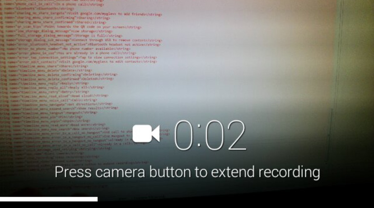 """[APK Teardown] Google Glass XE5 - A """"Take A Note"""" And Menu Voice Commands, More Wink Work, And Localization Progress"""