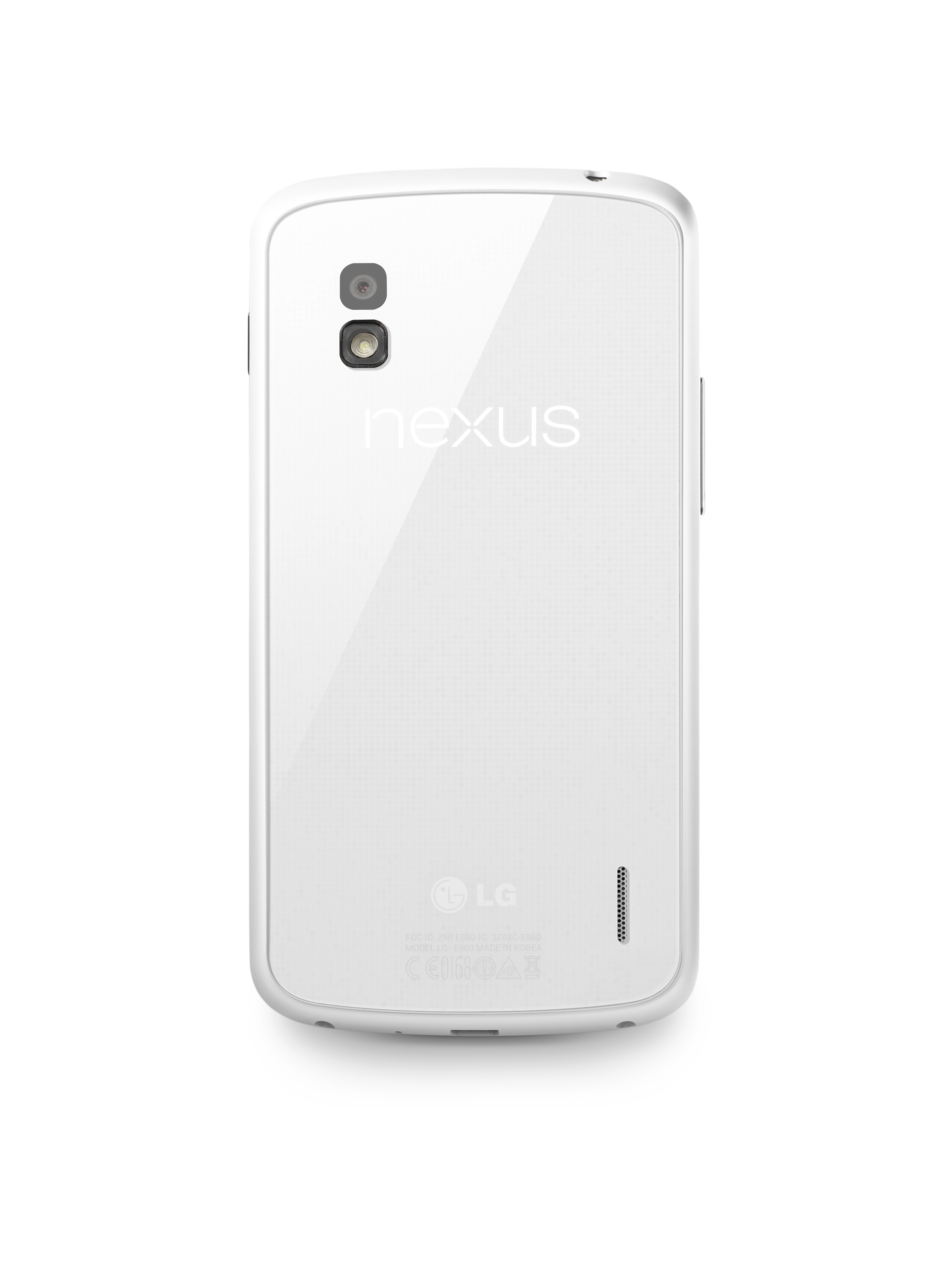 LG Announces The White Nexus 4, Quashes All Rumors That The Company Is Working On The Nexus 5