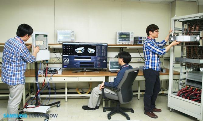 삼성전자5G기술세계최초개발