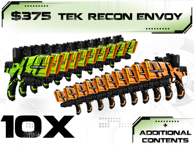 Tek Recon NERF-Style Guns Use Smartphones For Radar And Scopes, Kickstarter Campaign Now Live