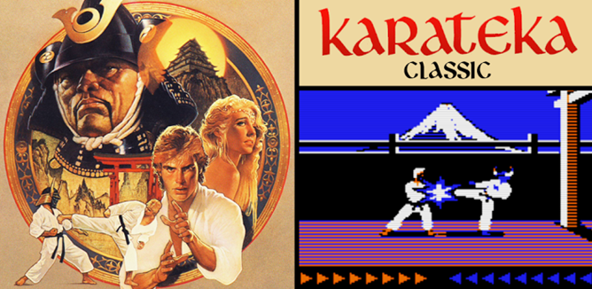Karateka-Banner