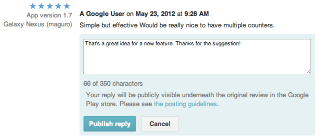 All Developers Can Now Reply Directly To App Reviews In The Google