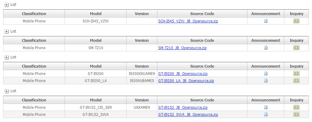 Samsung Releases Kernel Source Code For Verizon Galaxy S4