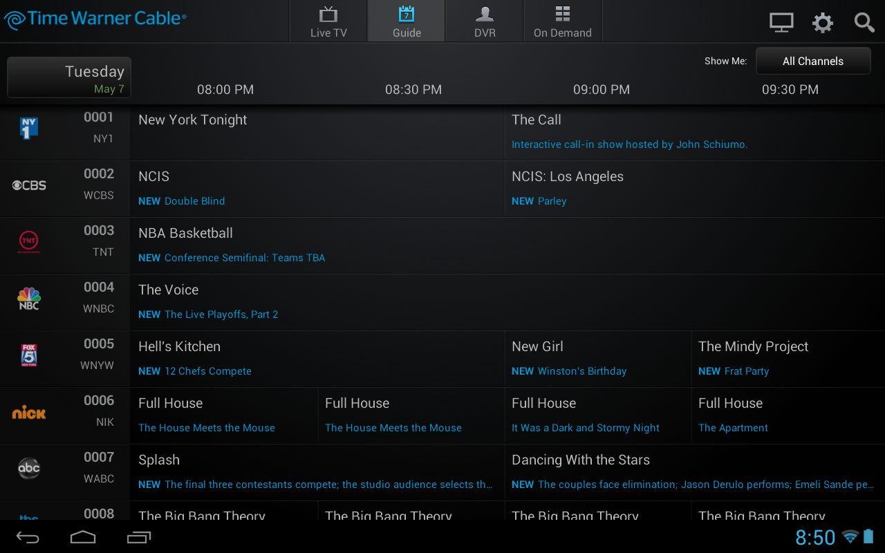 Time Warner Cable Tv App Updated With On Demand Content