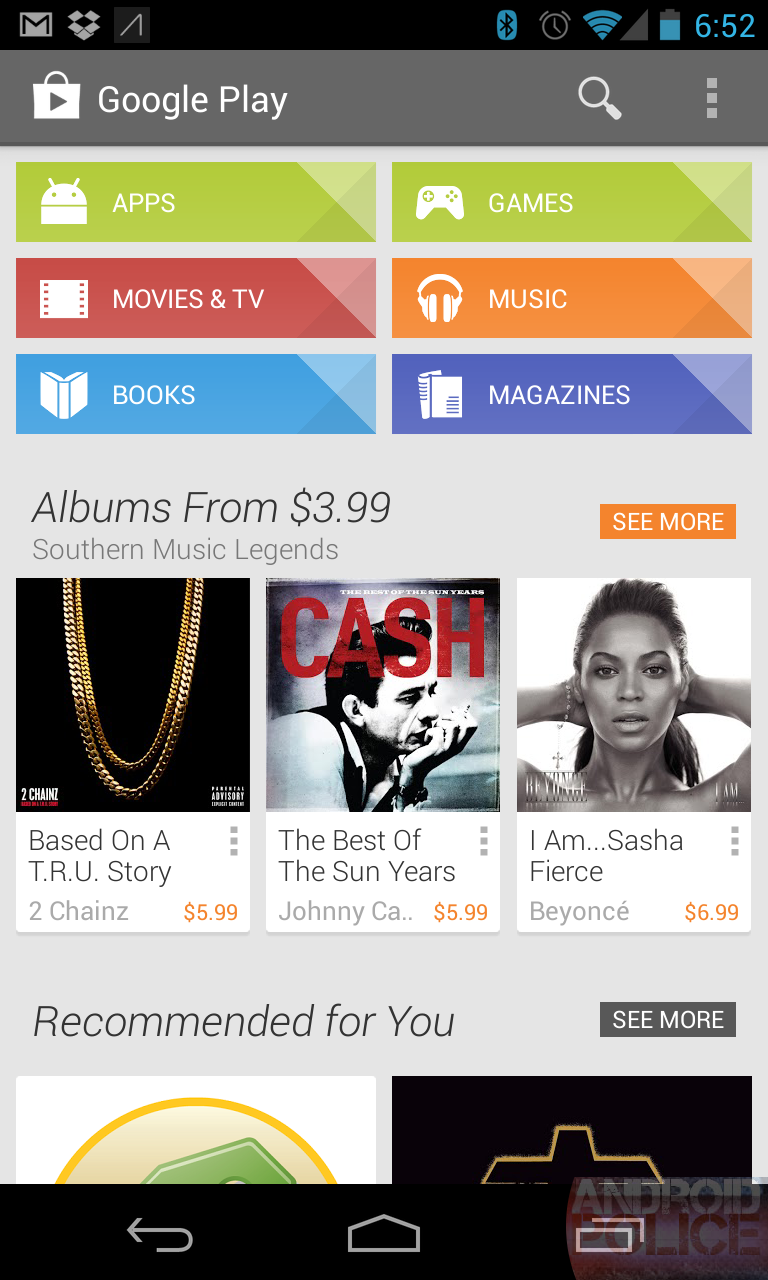 Download: Latest Google Play Store 4 1 6 - Sweet New Designs