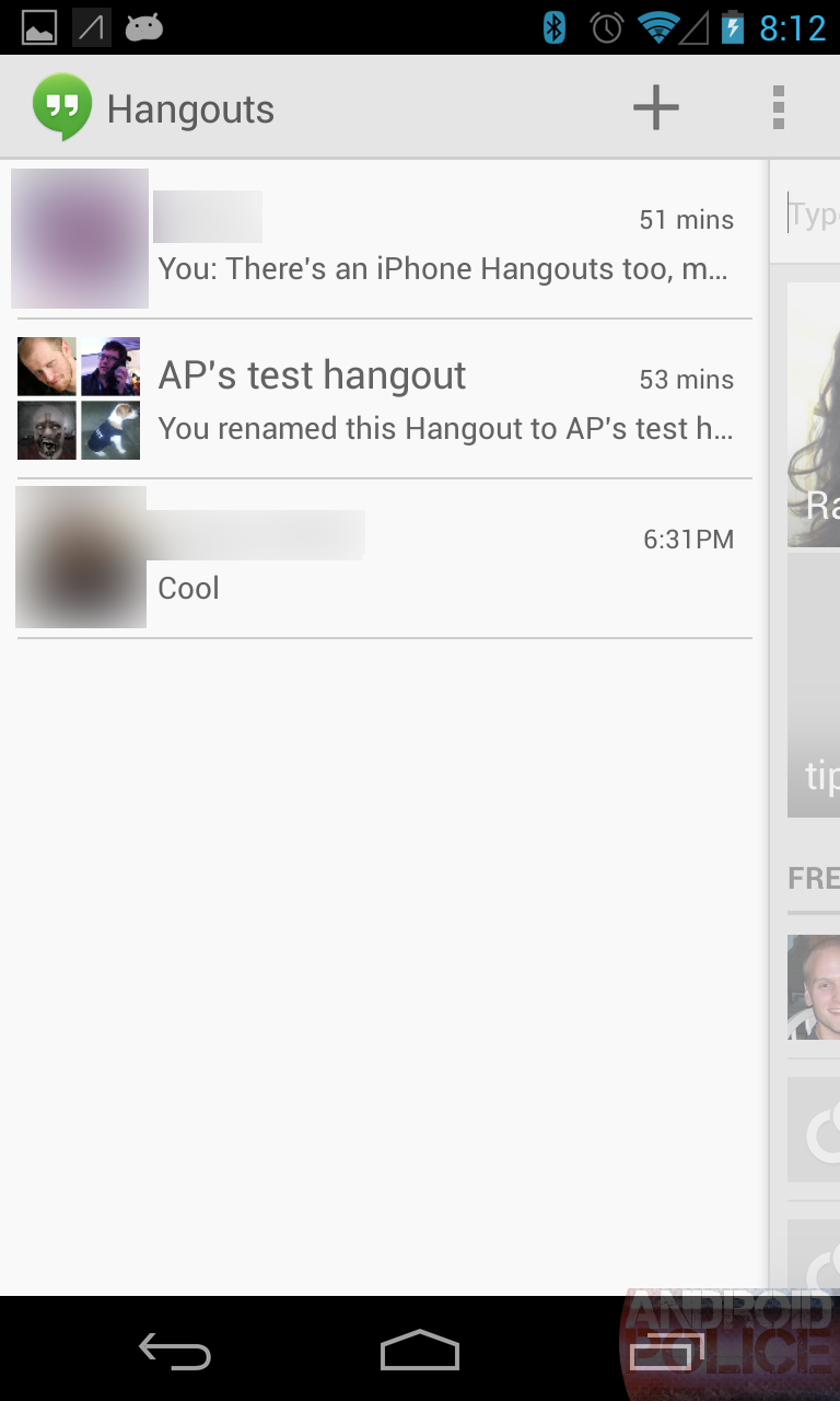 Hanging Out With Google Hangouts - Google's New, Beautiful