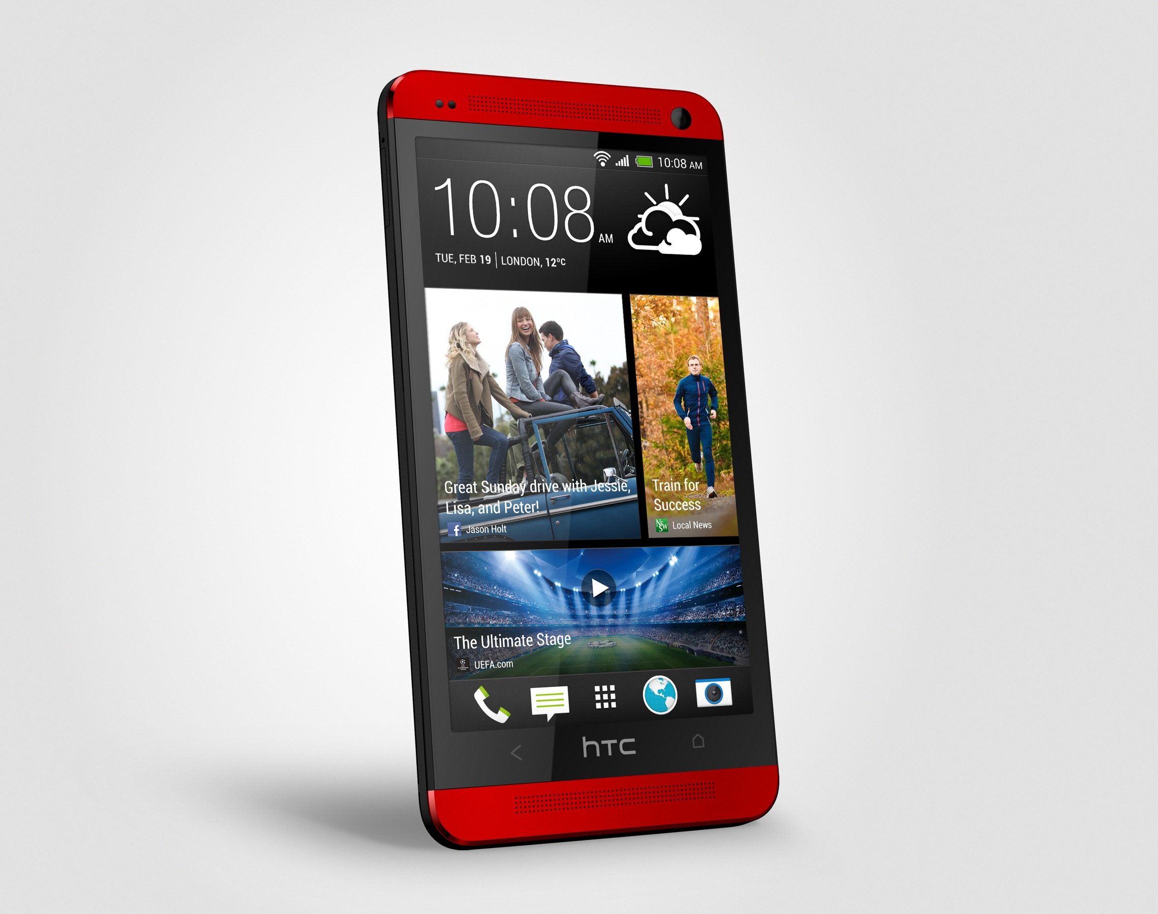 HTC One In Glamour Red Announced, Exclusive To Phones 4u In The UK
