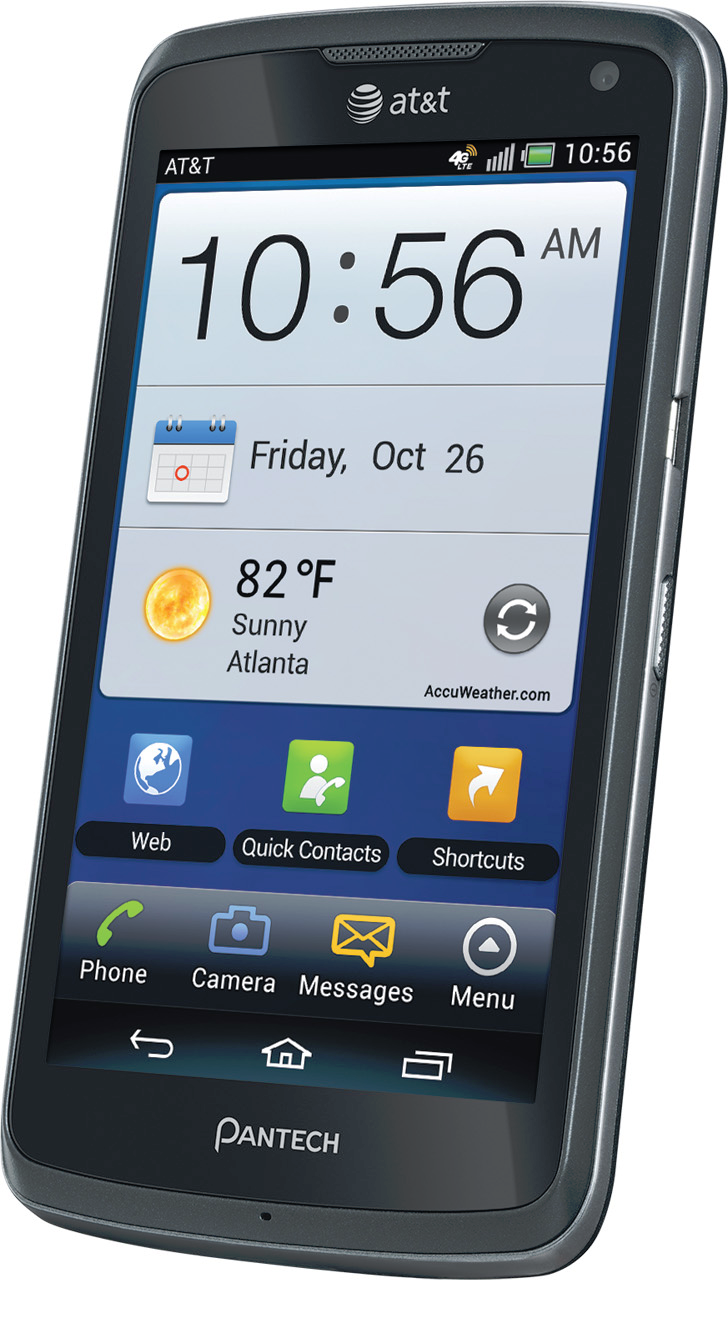 AT&T Pushing Android 4 1 2 To The Pantech Flex Beginning June 21st
