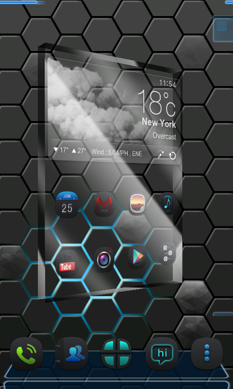 next launcher 3d shell full apk free