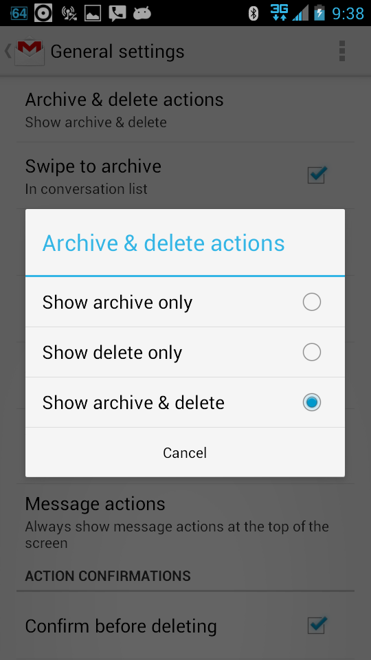 how to delete default gmail account from android