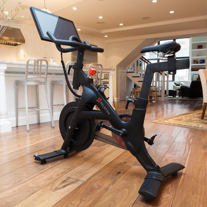 Peloton S 1 700 Android Exercise Bike On Kickstarter Has