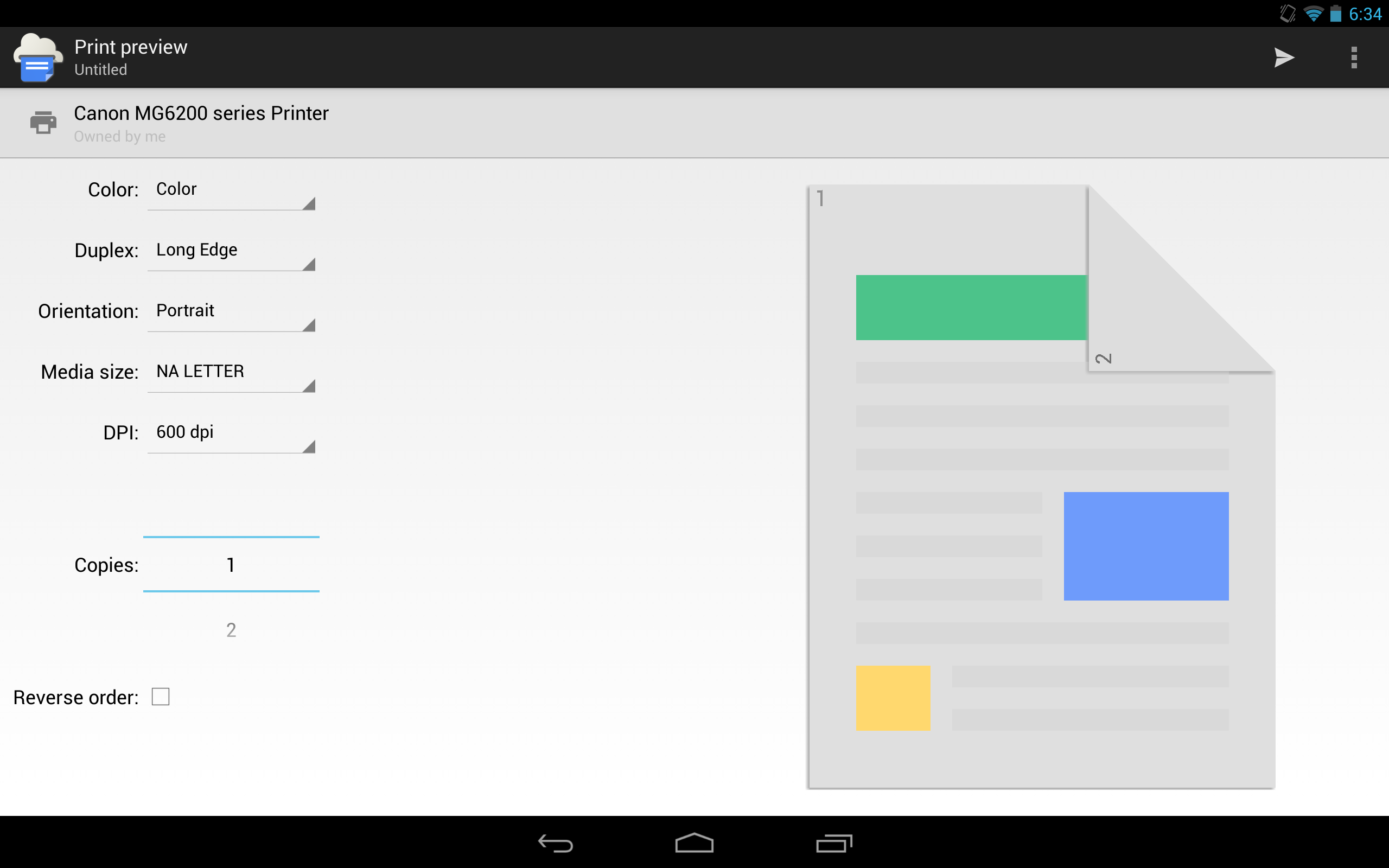 New App] Google Releases Official Cloud Print App [Update