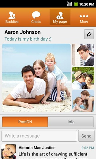 Samsung's ChatON App Updated To v2.7.3 With Voice And Video Chat For GS4, Animated GIFs, And More