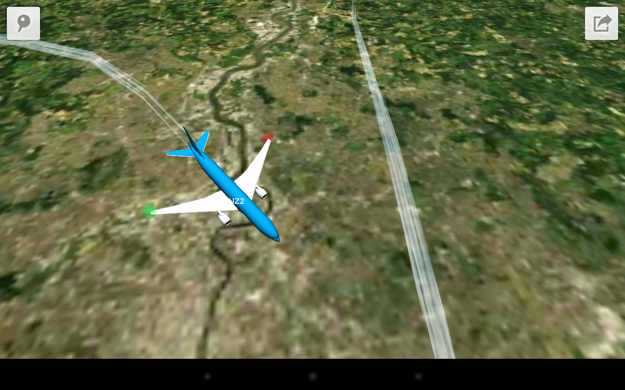 new app plane finder 3d lets you see planes in the air