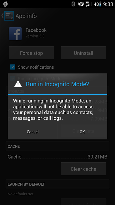 Privacy Guard (Formerly Incognito Mode) Has Been Merged Into CyanogenMod, Will Appear In Nightlies Starting Today