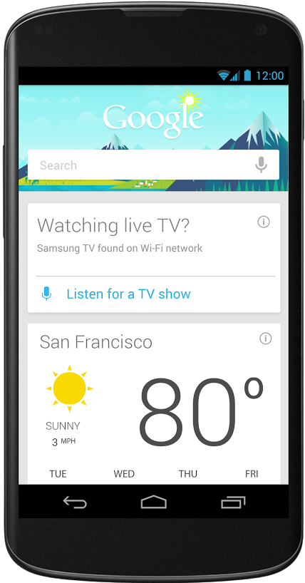 Google Search/Now Updated With Support For More Voice Actions, Integrated Offers, And TV Show Information In The US [Update: APK]