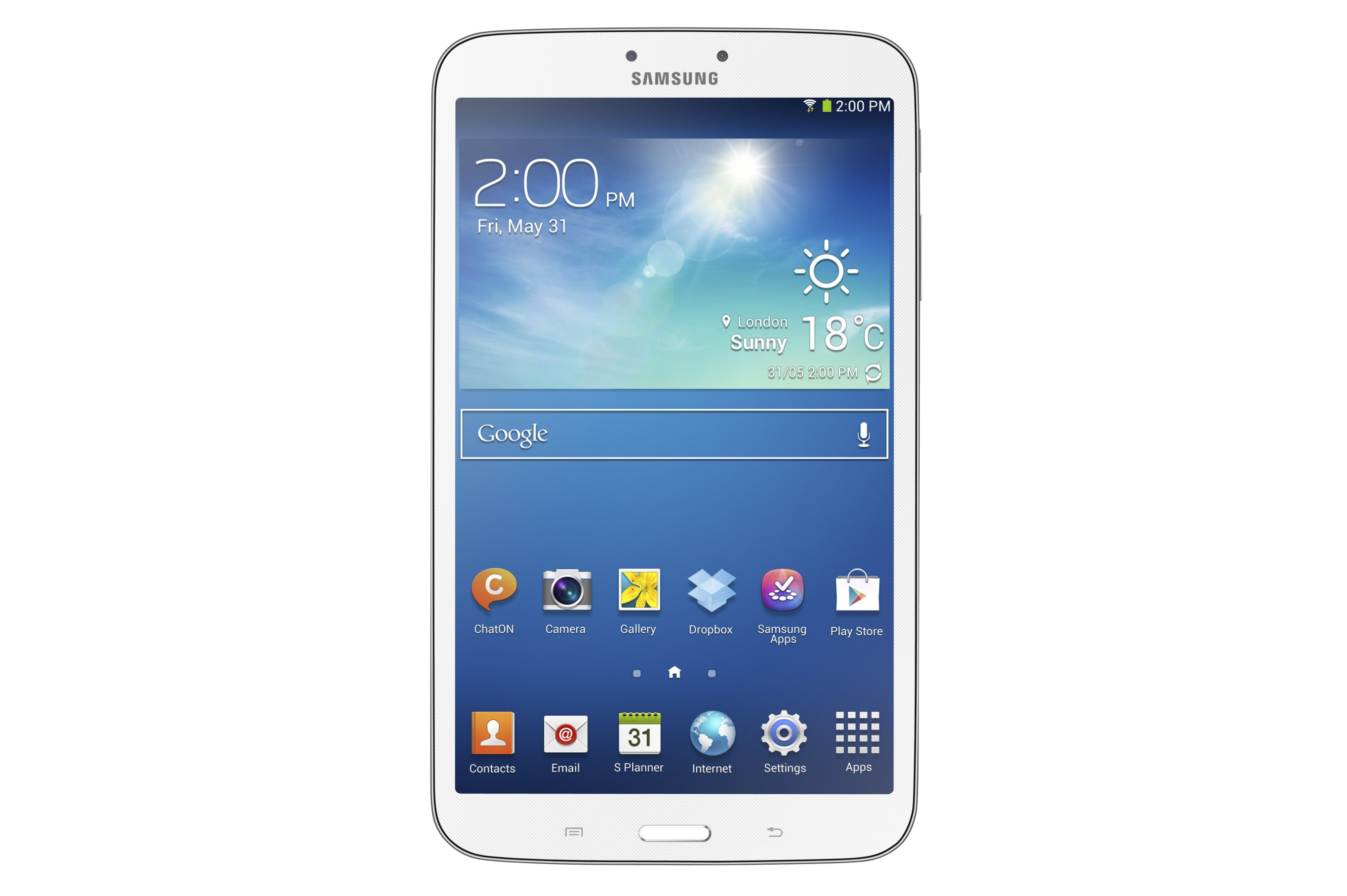 samsung announces the galaxy tab in inch and flavors launching early june