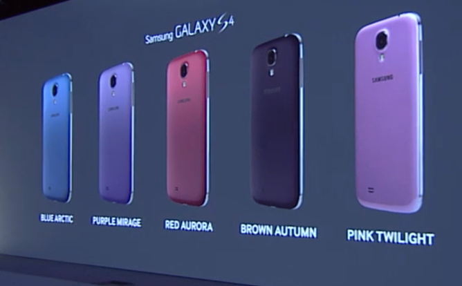 GalaxyS4Colors