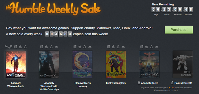 This Week's Humble Weekly Sale Features A Bunch Of Awesome ...