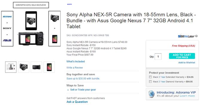camera deal