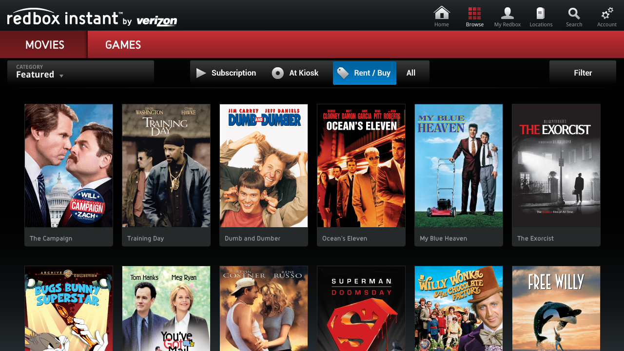 [New App] Redbox Instant Streaming Comes To Google TV Courtesy Of Verizon