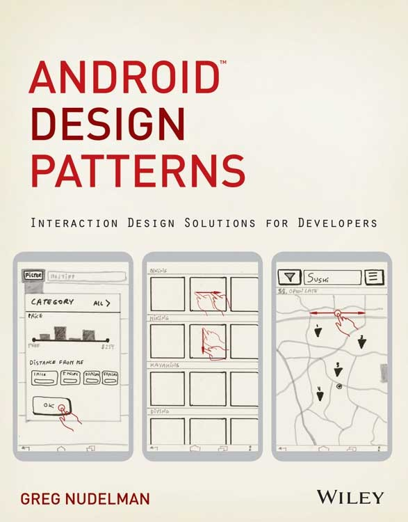 One of ten android design patterns books from wiley and android police