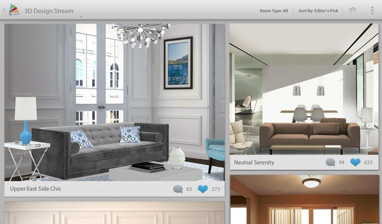 New app autodesk releases homestyler an incredible 3d 3d room design app