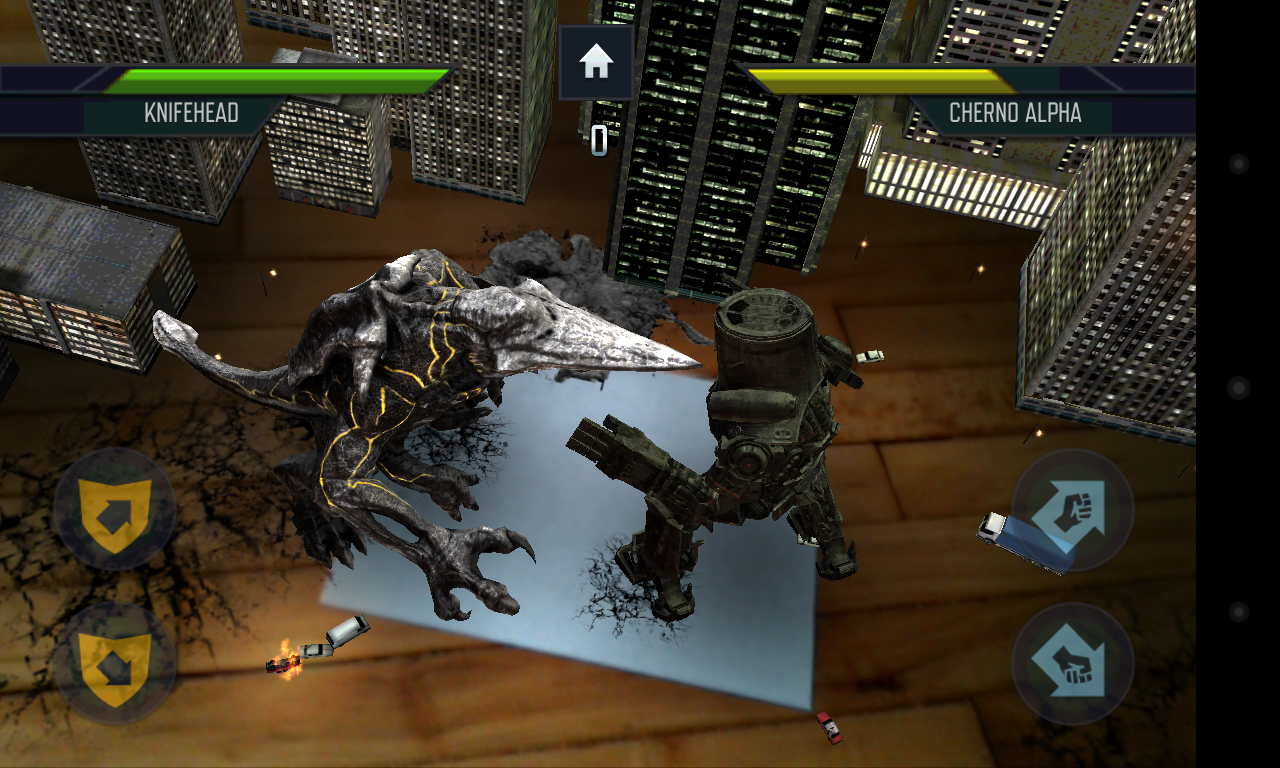 [New Game] Warner Bros Releases Pacific Rim: Kaiju Battle, An Augmented Reality Beat 'Em Up And Photo App