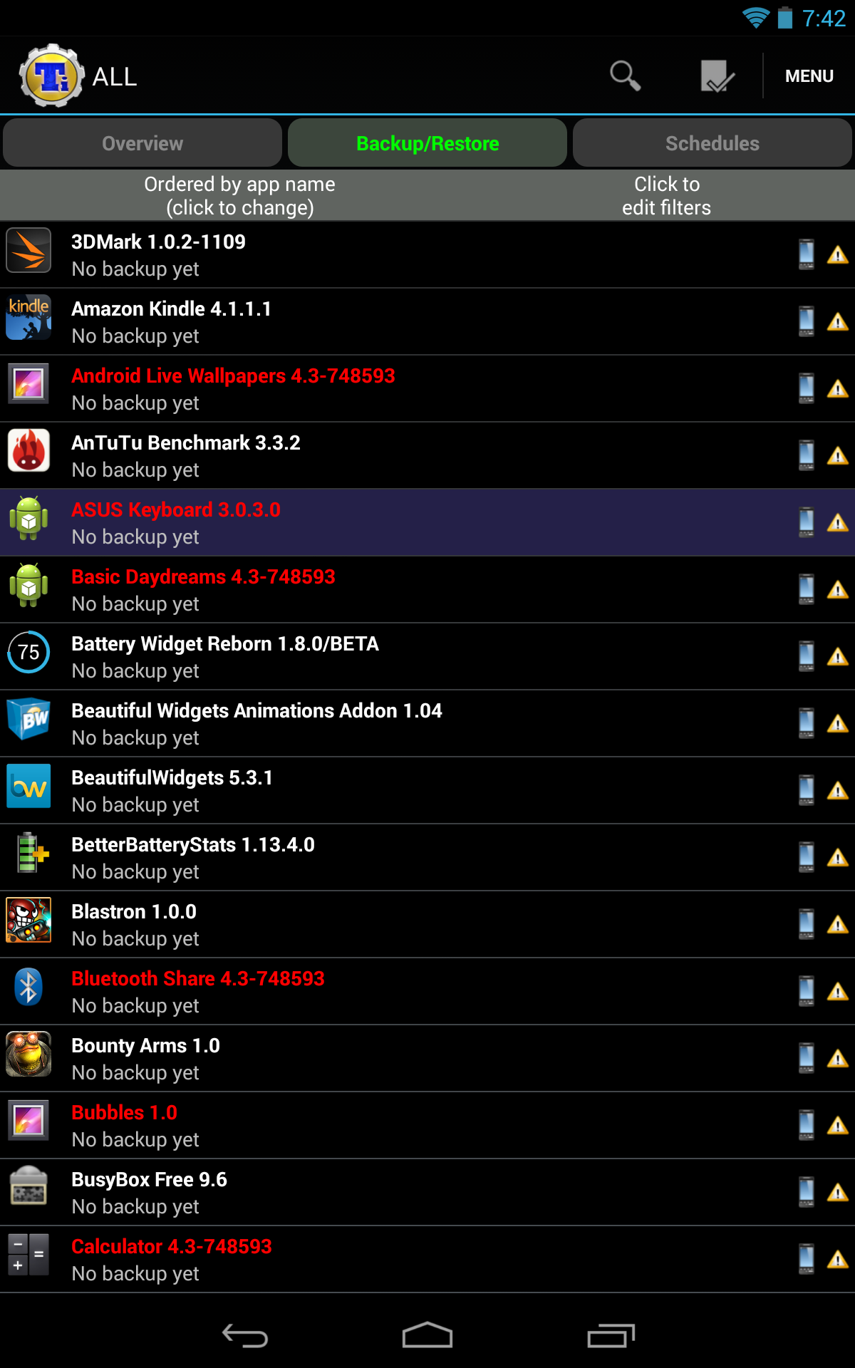 Titanium Backup Hits Version 6 1 With Android 4 3 Support, Power