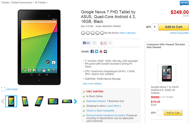 2013-07-30 15_32_47-Google Nexus 7 FHD Tablet by ASUS, Quad-Core Android 4.3, 16GB, Black _ Staples®