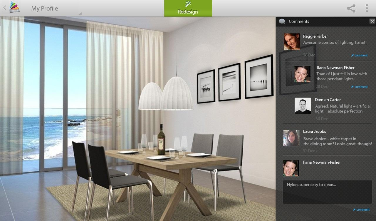New app autodesk releases homestyler an incredible 3d for Foto interior design