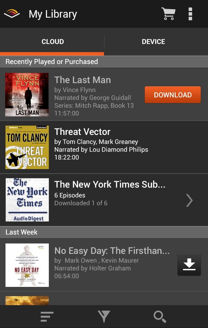 New to Audible