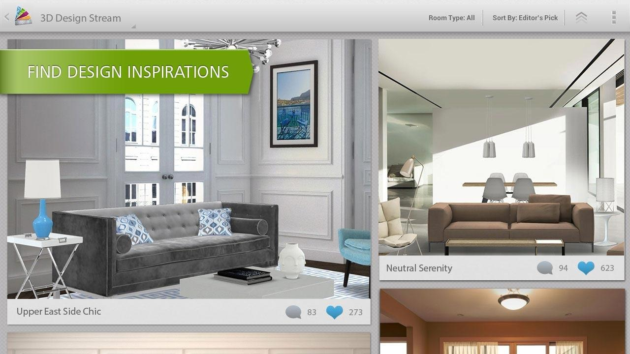New app autodesk releases homestyler an incredible 3d - Virtual room designer app ...