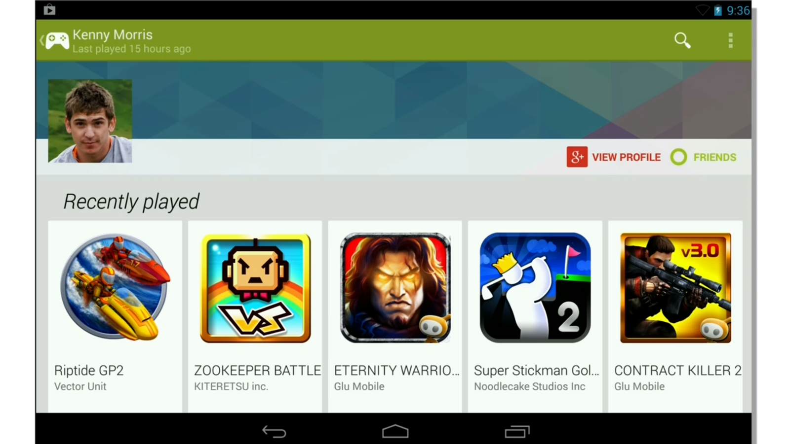 how to remove a game from google play games