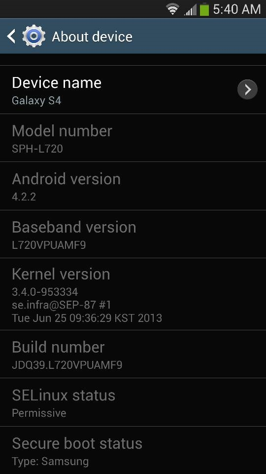 MF9 Update Rolls Out To Sprint Galaxy S4, Adds Apps To SD Storage Option And Other Enhancements, May Lock Down Bootloader