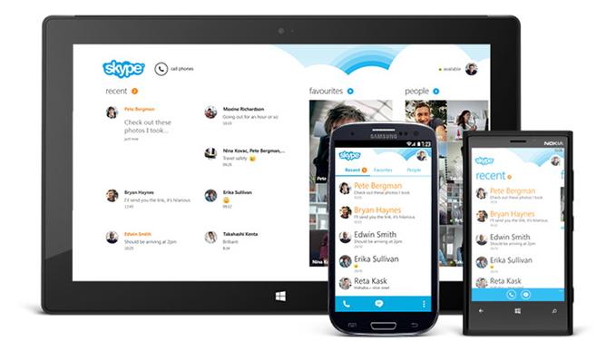 Skype-Redesign