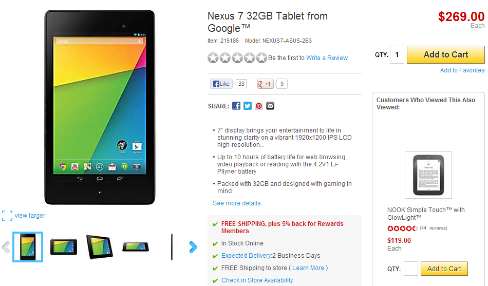 [Update: Winners!] US Giveaway: Win A 32GB Nexus 7 (2013), 16GB Nexus 7 (2013), Or A $50 Gift Card From Staples And Android Police