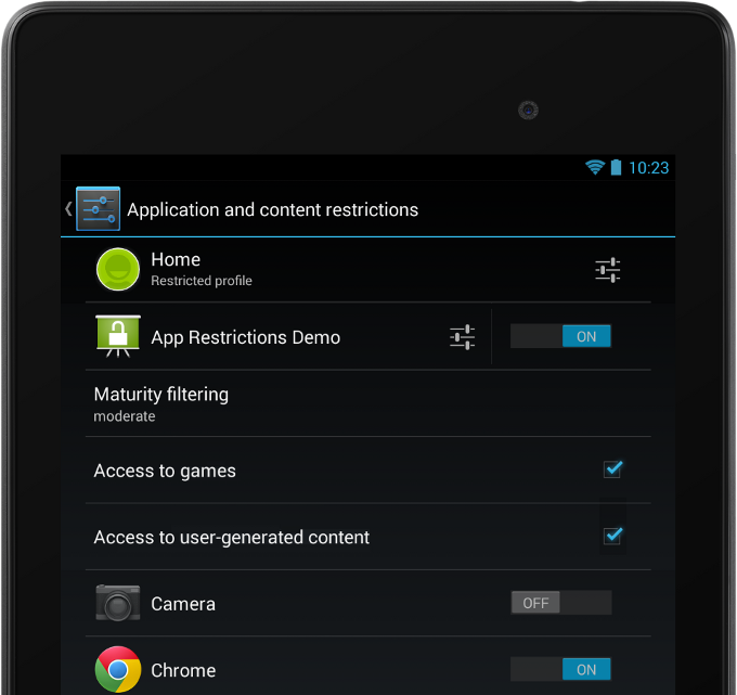 Android 4 3 Feature Focus: Multi-User With Restricted Profiles
