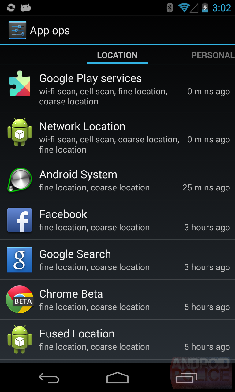 App Ops Android 43s Hidden App Permission Manager Control